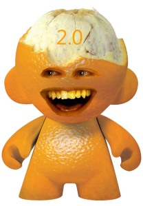 Annoying Orange Fan Art, Copyright The Annoying Orange