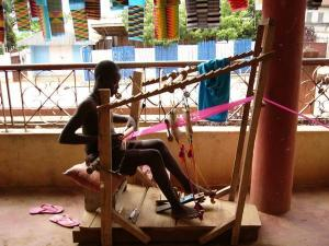 Kente Clothes Weaver