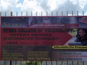 STARZ Institute of Technology in Libera
